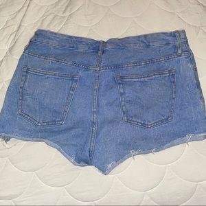 Pacsun Midrise Jean Shorts